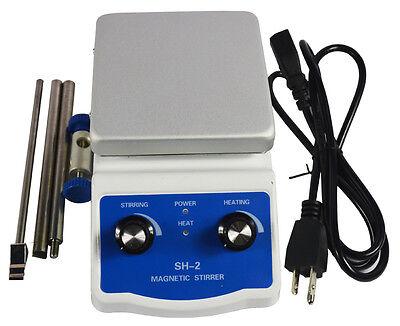 110v Sh-2 Digital Lab Hot Plate Magnetic Stirrer Mixer Thermostatic Blender
