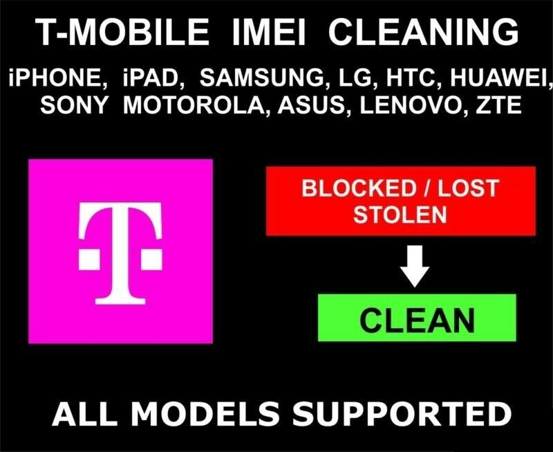 T-mobile Usa Unbarring / Cleaning Service Premium