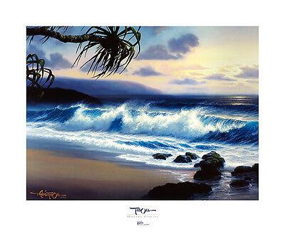 Roy Tabora Haleiwa Evening Poster Kunstdruck Bild 61x76cm