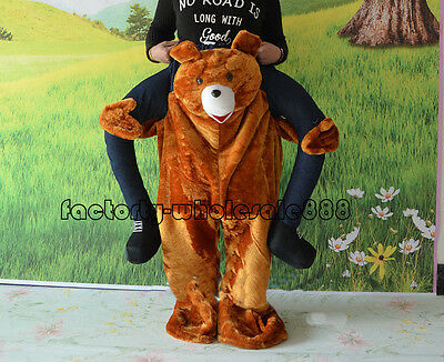 Birthday On Halloween (Halloween Ride On Animals Fancy Dress Teddy Bear Mascot Costume Birthday Outfit)