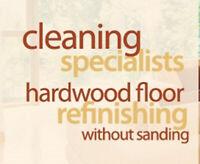 Refinishing  your hardwood floors without sanding! Save $$$$
