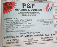 P & F Heating and Cooling
