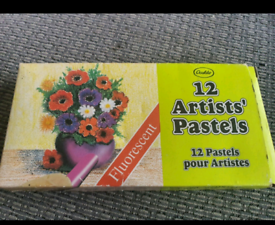 12 pack of artists pastels