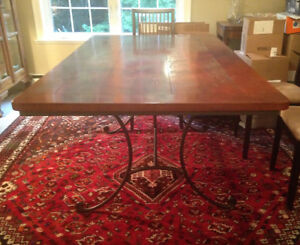 Cherry top dining table