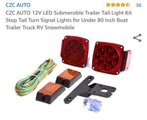 Led trailer wiring kit submersible