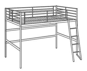 Upper Bunk Bed