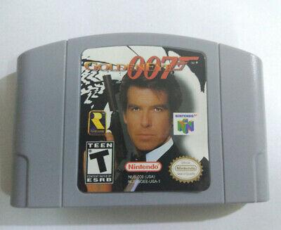 US Version GOLDENEYE 007 Nintendo 64 Video Game Card Cartridge for N64 Console