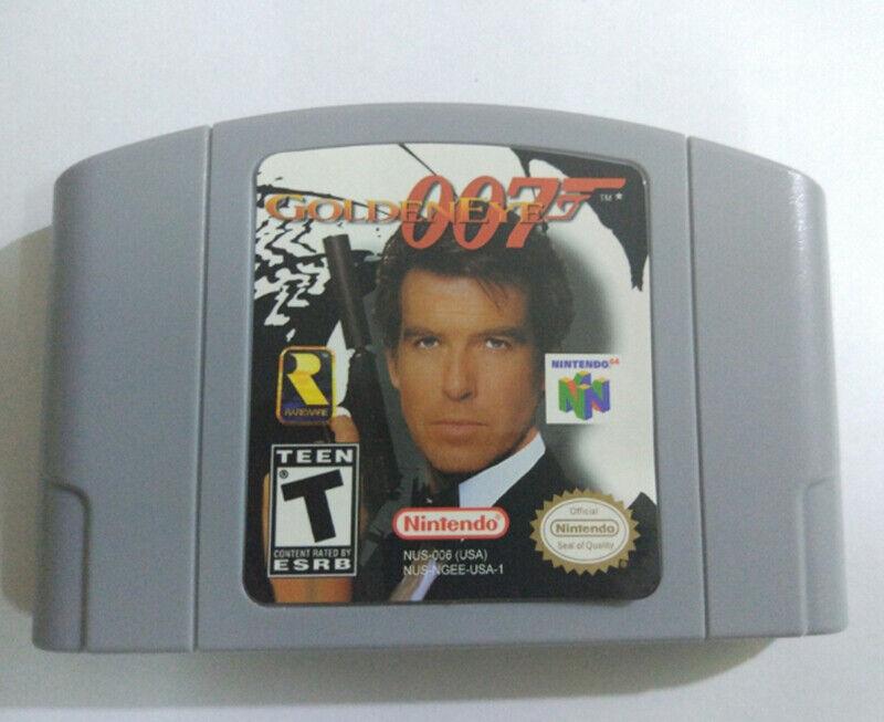 US Version GOLDENEYE 007 Nintendo 64 Video Game Card Cartrid