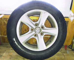 4 All Season Tires Complete With Rims - Bonus Winter Tires