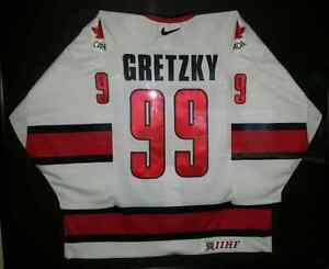 SIGNED Gretzky Team Canada Jersey