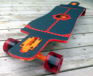 Paradise Drop-Through Longboard 'Graffiti' BRAND NEW