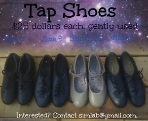 TAP SHOES Sizes 5, 51/2 and 6