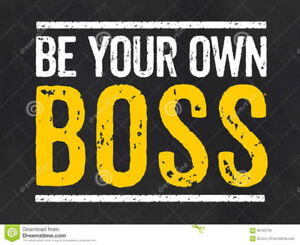 Be Your Own Boss!     Sault Ste. Marie