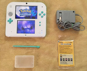 Limited edition 2DS_With Tons of 3DS Games_Pokemon SUN & MOON...