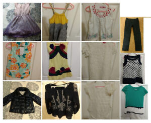 4-6yr old girls dresses, pants, jacket (15+ items)
