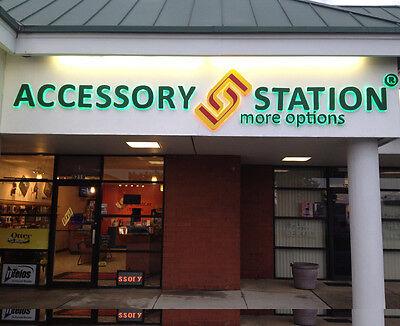 Custom-made Outdoors Stainless Steel Back Led Light Channel Letter Shop Sign