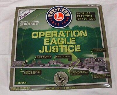 Lionel Spur 0 Zugset 6-30144 OPERATION EAGLE JUSTICE - OVP