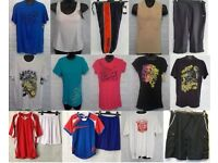 Wholesale & Job Lots 100 Pieces of Assorted Sports Clothing all Brand New