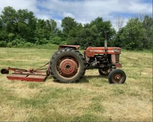 165 Massey Ferguson with Implements
