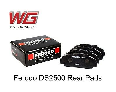 Ferodo DS2500 Rear Brake Pads for Honda Accord (1996 - PN: FCP956H
