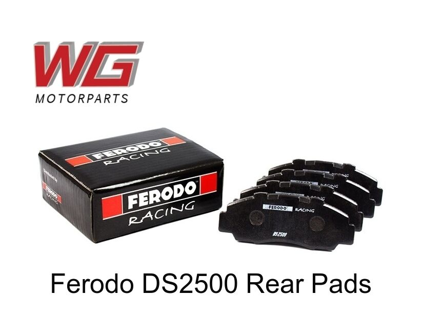 Ferodo DS2500 Rear Brake Pads for Seat Toledo 1.8L (1998+) FCP541H