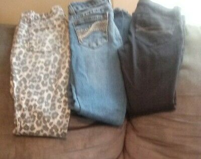 Lot Of Girls Clothes 6lbs+ Sz7/8  Assorted Styles Justice Abercrombie H&M & more