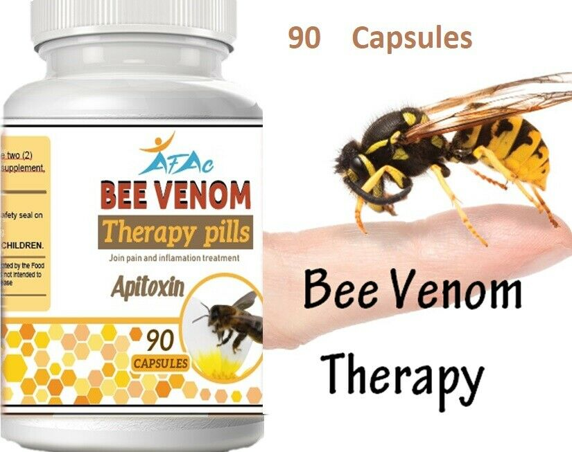 NATURAL BEE,BIOBEE anti-inflamatory Arthritis Pain abeemed bee therapy NIB 90 C