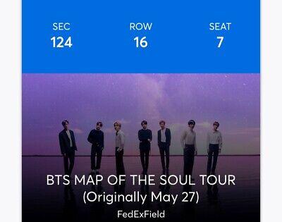 unwanted BTS concert tickets