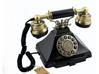 Retro Vintage Style Telephone Push Button Phone