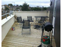 Brilliant 3 bedroom penthouse with a roof terrance *BATTERSEA* Queenstown Rd