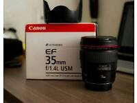 Canon 35L f/1.4 i