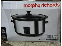 Morphy Richards 6.5 litre slow cooker