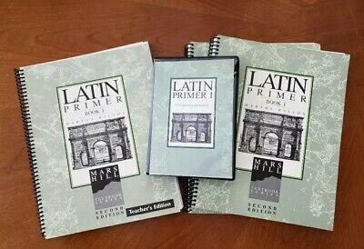 Latin Primer Book 1 (3 of same book)  plus CDs