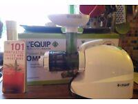 L'Equip Omni Juicer - best masticating juicer on the market! Hardly used!