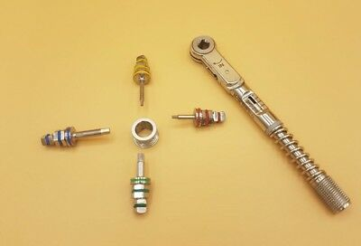 Dental Implant Torque Wrench Ratchet 10-50 Ncm 6.35mm 4.0mm Drivers