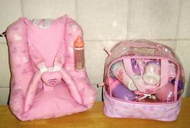 You & Me Dolls Car Seat & Accessories Bag
