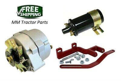 Alternator Conversion Bracket Kit Ih Farmall A B Bn C 100 130 200 Super A C