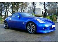 2006 Nissan 350Z Convertible Blue GT Pack