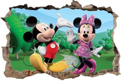 s47  micky maus 120 cm mickey mouse minnie donald pluto Wandaufkleber Wandtattoo