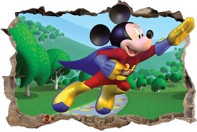 s44  micky maus 120 cm mickey mouse minnie STICKER 3D Wandaufkleber Wandtattoo