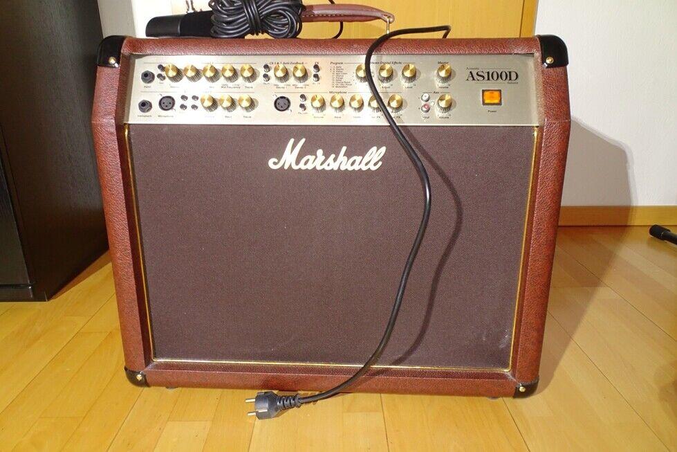 Marshall AS100D Acoustic Verstärker-Top Gerät inkl. Fußpedal kostenloser Versand