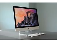 "Apple iMac 27"" LED 2.9GHZ i5 8GB 1TB HD Desktop Computer Boxed As New Condition"