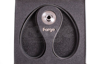 Forge Supercharger Reduction Pulley & Drive Belt-PN: FMSCPS53T for Audi S5 3.0T