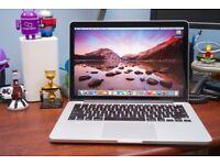APPLE MACBOOK PRO RETINA 2015/16 INTEL CORE I5 2.7GHZ 8GB RAM 128GB FLASH WIFI WEBCAM OS X