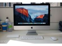 iMac 21.5-inch - MINT CONDITION!!! ORIGINAL PACKAGING!!! £800 OVNO