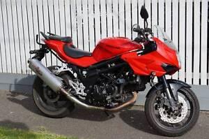 Hyosung GT650s Flemington Melbourne City Preview