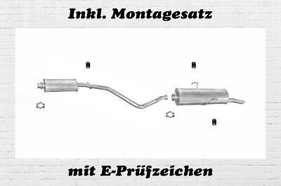 Peugeot 306 1.9 D 2.0 HDi break Kombi Auspuff Auspuffanlage Abgasanlage Anbaukit