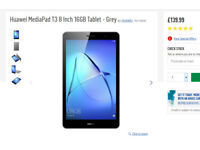 8' Huawei T3 Media Tablet - £80 Brand New Unused Upgrade