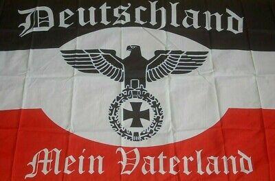 Deutschland mein Vaterland Fahne Flagge Hißflagge Hissfahne 150 x 90 cm