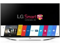 "LG 50"" 4k ultra HD LED 3D cinema smart internet Tv with free view"
